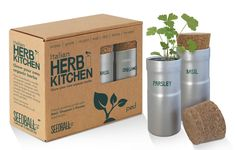 Just Add Water This lovely herb kit is a brilliant and easy way to start growing. Just Add Water T Italian Meat Dishes, Storage Pods, Grow Kit, Kitchen Herbs, Herb Seeds, Organic Herbs, Drying Herbs, Parsley