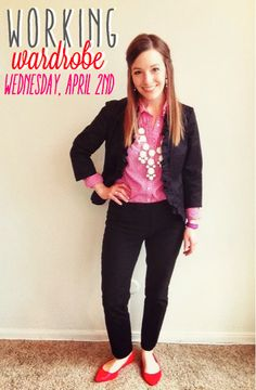 Working Wardrobe: April 2nd via History & High Heels - Business formal with personality!