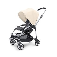 "The multi-stage Bee can accommodate your child from infant to toddler. At 20"" wide, it's the most compact Bugaboo of all!"