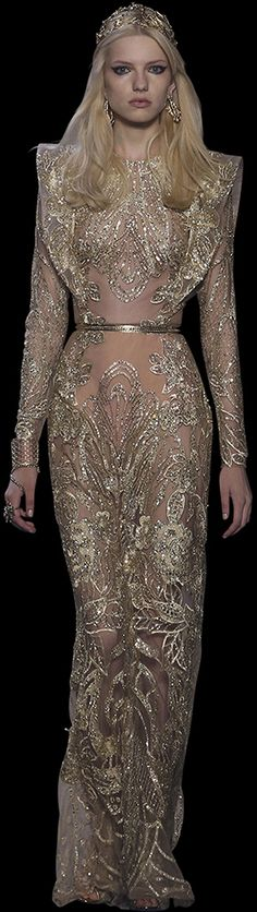 Welcome to the world of ELIE SAAB: discover the latest Haute Couture and Ready to Wear Collections, Accessories, Shows, Celebrities, Backstage and more. Couture Fashion, Runway Fashion, Couture 2015, Zuhair Murad, Beautiful Gowns, Beautiful Outfits, Traje Black Tie, Elegant Dresses, Nice Dresses