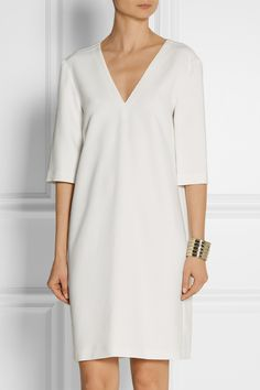 Calvin Klein Collection | Baire stretch-crepe dress | NET-A-PORTER.COM 50% acetate, 47% viscose, 3% elastane