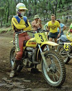 MX de los 70 Suzuki Enduro Motorcycle, Motocross Riders, 2 Stroke Dirt Bike, Wal G, Off Road Bikes, Moto Cross, Off Road Racing, Vintage Motocross, Dirtbikes