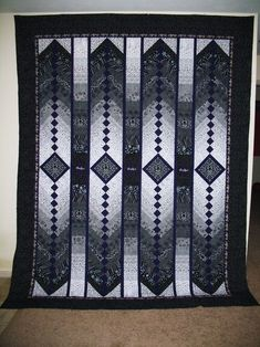 french braid quilt   The Crown Royal French Braid quilt I made for my husband by adrian