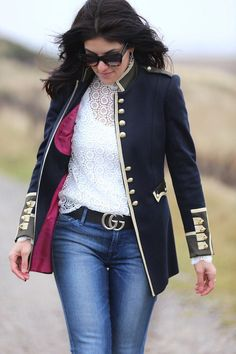Street Style Military Jacket by The Extreme Collection Visit us: www.theextremecollection.com