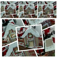 Casinha de Natal em ScrapDecor