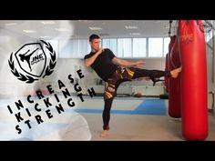 Обучение сильных ударов ногами, скоростно-силовая тренировка на ноги. - YouTube
