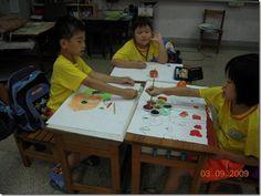 2009/09/04 14:19   中廚的水果 柿子 ,請小朋友留著等下午畫完再吃,有人忍不住還偷吃一口。   可以畫吃柿子、買柿子、摘柿子。