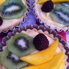 Summer Fruit French Tarts
