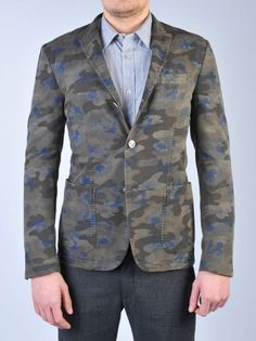 MESSAGERIE - Giacca camouflage | Di Pierro http://www.dipierrobrandstore.it/product/1641/Giacca-camouflage.html