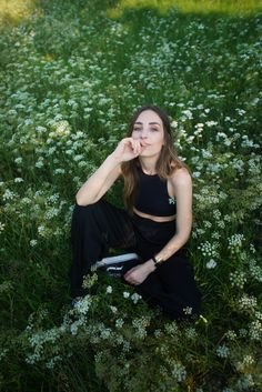 Kathi / styled by k Fashion Photo, Cravings, Grass, Personal Style, Style Inspiration, Flowers, Summer, Summer Time, Grasses