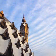Roofs of Hogsmead. I just love the universe of Harry Potter! #harrypotter #hogsmead #galtvang