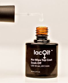 LacQit One Step Gel Polish Top it or Not ? It's all about options! And we Like options!