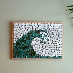 Driftwood slice wave art www.driftingconcepts.com