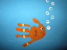 Animal Art With Hand Prints✋