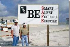 mining safety slogan