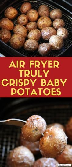 Air Fryer Truly Crispy Baby Potatoes