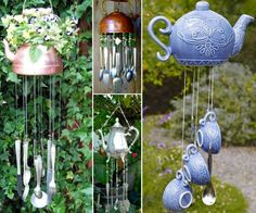 Teapot Wind Chimes