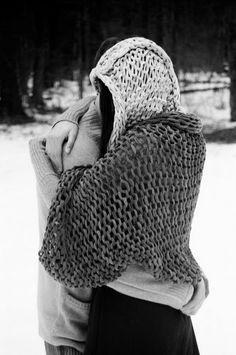 extreme big style - i knit these