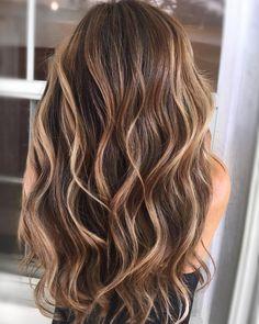 "@kellymassiashair on Instagram: balayage brunette ""We sure have come along way #KellyMassiasHair #loveoliviagarden #olivegarden . . #behindthechair…"""