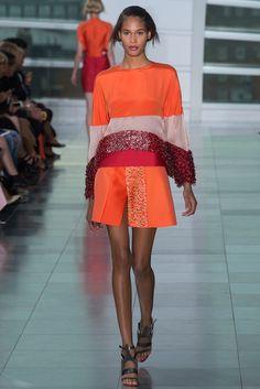 Antonio Berardi Spring 2015 Ready-to-Wear Fashion Show - Cindy Bruna