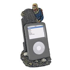 Zombie Graveyard Mobile Phone Holder