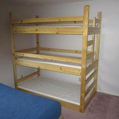 bunk beds on Pinterest
