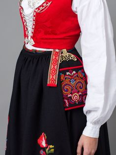 Bilde av Lomme og sele til bunad fra Vest-Agder Folk Costume, Costumes, Kristiansand, Designer Evening Dresses, My Heritage, Traditional Outfits, Dress To Impress, Norway, To My Daughter