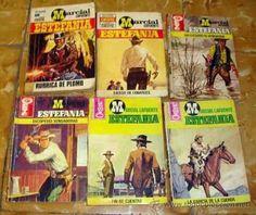 De estas novelas tenía un montón mi padre.Yo me leí todas....!!