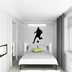 Soccer/Futbol player Wall Decal Customizable by VinylLettering, $19.99