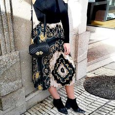 Explosion Retro Ethnic A-Line Skirt – streetstyletrends   how to style skirts styles skirts skirt and top outfits  #outfitwithskirt#winterskirtoutfits#skirtshoes#skirtandtopoutfits#stylesskirts