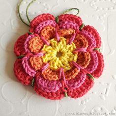 Crochet flower..