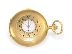 "Taschenuhr: hochfeines Vacheron & Constantin Ankerchronometer mit Chronograph ""Compteur"", Chronomèt"