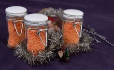 Make your own Chile Salt, a wonderful way to add a little flavor and spice to any dish. And, it makes a great homemade gift!