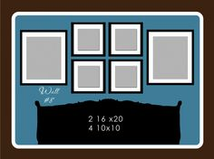 Picture hanging guide