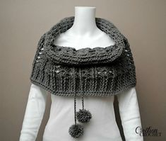 Ravelry: Cathedral Convertible Cowl pattern by Lorene Haythorn Eppolite- Cre8tion Crochet