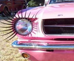 PINK With Eyelashes!! My Mom & I Would <3 It!!