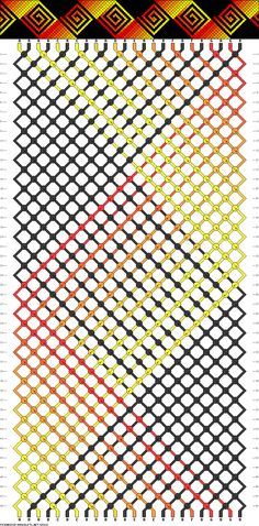 24 strings, 48 rows, 7 colors