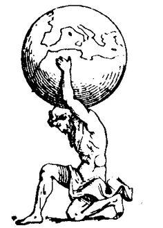 Atlas ~ Means Endurance Rose Rib Tattoos, Atlas Tattoo, Tribal Dragon Tattoos, Baby Sketch, Cloud Atlas, Pen Illustration, Shoulder Tattoos For Women, Tattoo Stencils, Sundial