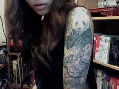 panda tattoo | Tumblr