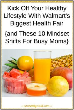 Learn my 10 mindset shifts for busy moms who want to live a healthier lifestyle... and check out the details on how you can kick off your healthy lifestyle at Walmart's Biggest Health Fair on October 10th with free health screenings, health insurance education, product demonstrations and gift bags – at a Walmart store near you. #Just10 #WMT #ad