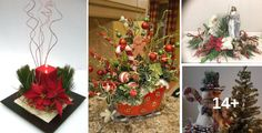18 Beautiful Centerpieces Ideas That You Can Make To Decorate Your Dinning Table This Christmas! Christmas Decorations, Table Decorations, Dinning Table, Beautiful Christmas, Centerpieces, Plants, Home Decor, Decor Ideas, Christmas 2017