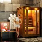 Luxo Taavi 2 Person Ceramic Infrared Sauna