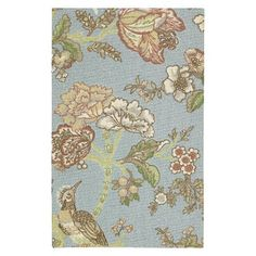 Waverly Bird Print Rug