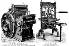 Buchdruckmaschinen [1]