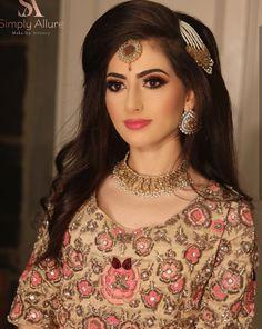 Pakistani Bridal Makeup, Indian Bridal, Bridal Looks, Bridal Style, Bridal Beauty, Bridal Hair, Dress Makeover, Mehndi Brides, Bridal Pictures
