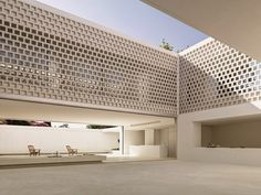 Perforated walls bring light into the heart of Gus Wüstemann's Los Limoneros house