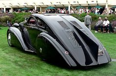 1925 Rolls Royce Phantom I Jonckheere Aerodynamic (Round Door) Coupe
