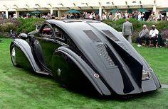 1925 Rolls Royce Phantom I Jonckheere Aerodynamic (Round Door) Coupe