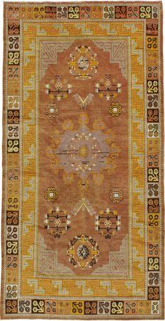 Antique Khotan Carpet, No. 18709 - from Galerie Shabab