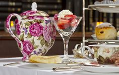 Thirsty? How about an afternoon stop at a participating hotel for Traditional Afternoon Tea!